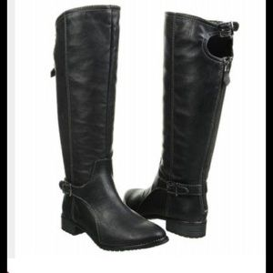 Sporto Cider Faux Leather Riding Boot.